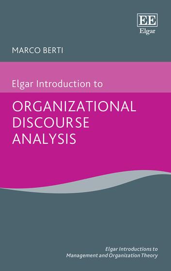 تحلیل گفتمان سازمانی
